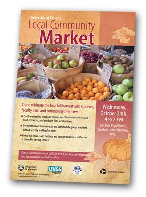 Local Community Market poster