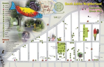 South Jubilee map