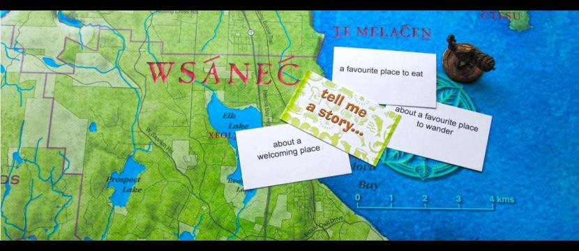 A community mapping game