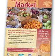 Local Community Market poster