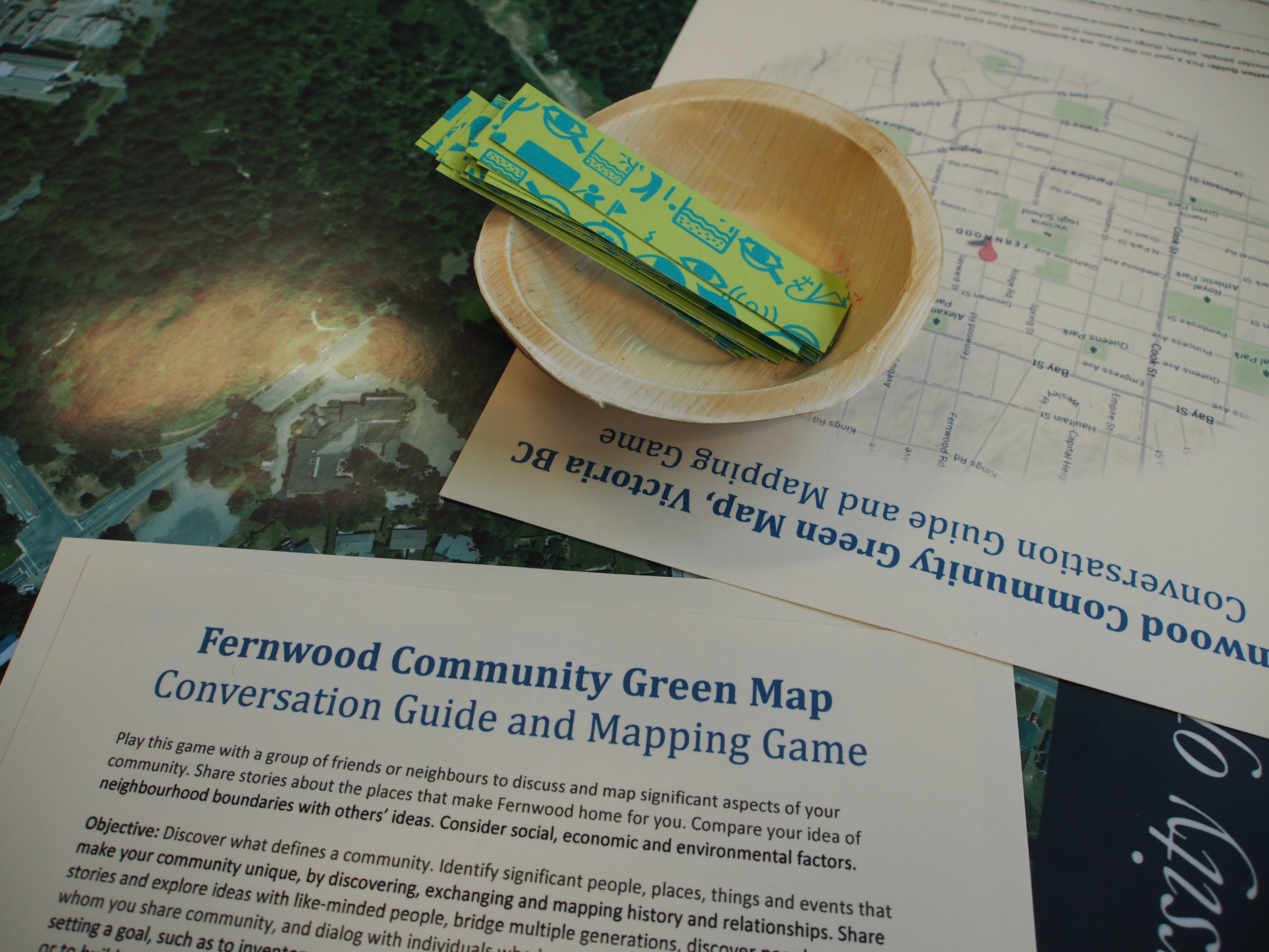 Fernwood conversation guide and mapping game by Dan Dougherty