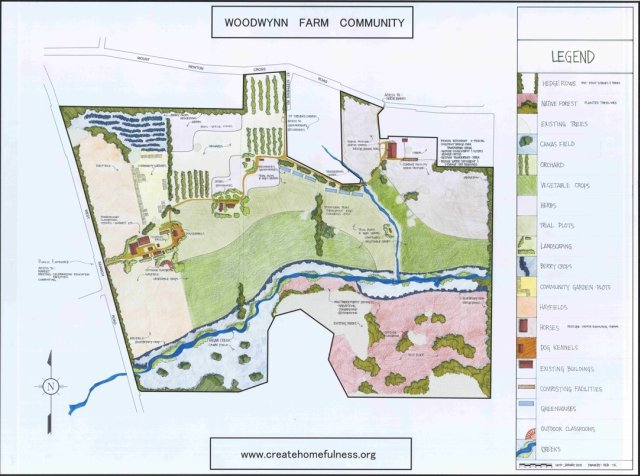 Woodwynn Farms map