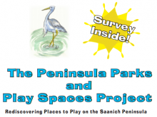 peninsula park play spaces survey screenshot