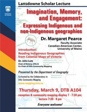 Lansdowne Scholar Lecture by Dr. Margaret Pearce